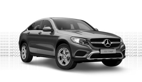 Цвета GLC Coupe (X253)