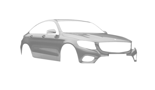Цвета кузова GLC Coupe (X253)